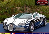 Bugatti Veyron  GS  l'Or-Blanc