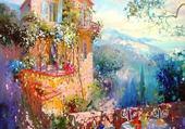 jolie maison colorée