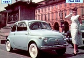 Puzzle Fiat 500 1957