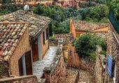 Puzzle Village perché sur les hauteurs
