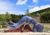Puzzle Dinosaure toboggan