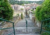 Petite ruelle du vieux Roussillon