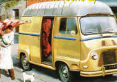 Estafette boucher