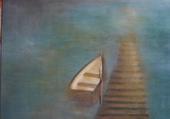 barque au ponton