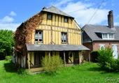 Maison à colombages dans les Ardennes