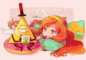 Mabble and Bill Gravity Falls