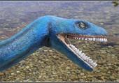 Le dinosaure bleu