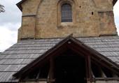 Abbaye du Boscodon  entrée