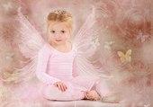 une danseuse papillon