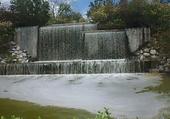 une magnifique cascade en pleine nature