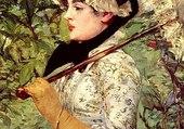 Printemps - Manet 1881