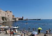 Bord de mer Collioure