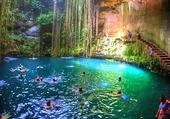 Puzzle piscine de rêve