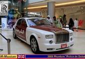 Rolls+Royce Phantom Police Dubaï