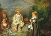 l'âge heureux-Antoine Watteau