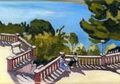 La terrasse - Albert Marquet