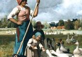 Les oies - julien dupré
