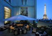 Belle terrasse vue Tour Eiffel