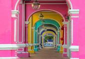 colonnes colorées