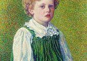 Margery par son père van Rysselberghe
