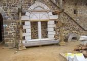 fenêtre du chateau de Guedelon
