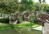 Pont fleuri à Vonnas 01