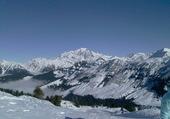 Mont Blanc Vu du Beaufortain