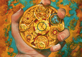 Horloge complexe