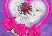 des diamants et des roses