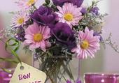 Puzzle joli bouquet printanier