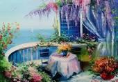romantique terrasse