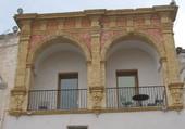 palais baroque à Nardo en Italie