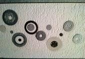 Puzzle details sur tapisserie
