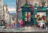 Puzzle café a paris