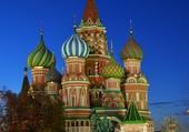 Cathedrale Saint Basile à Moscou