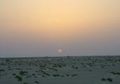 coucher de soleil en tunisis