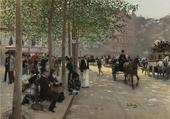 Puzzle Avenue parisienne