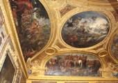 Plafond du château de versailles