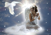 ange et colombe