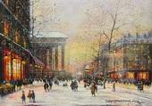 Puzzle Paris la Madeleine en hiver