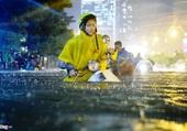 Saison des pluies à Ho Chi Minh.2