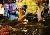 Saison des pluies à Ho Chi Minh.3