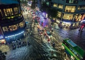 Saison des pluies à Ho Chi Minh.4