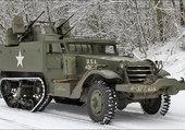 half track M16 US ARMY