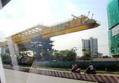 Construction du métro à Ho Chi Minh. 1