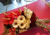 Jolies décorations florales