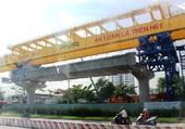 Construction du métro à Ho Chi Minh. 2