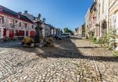 Rue de village en Belgique