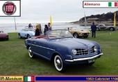 Puzzle Fiat Cabriolet 1100 Allemano