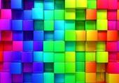 Puzzle cubes en couleur